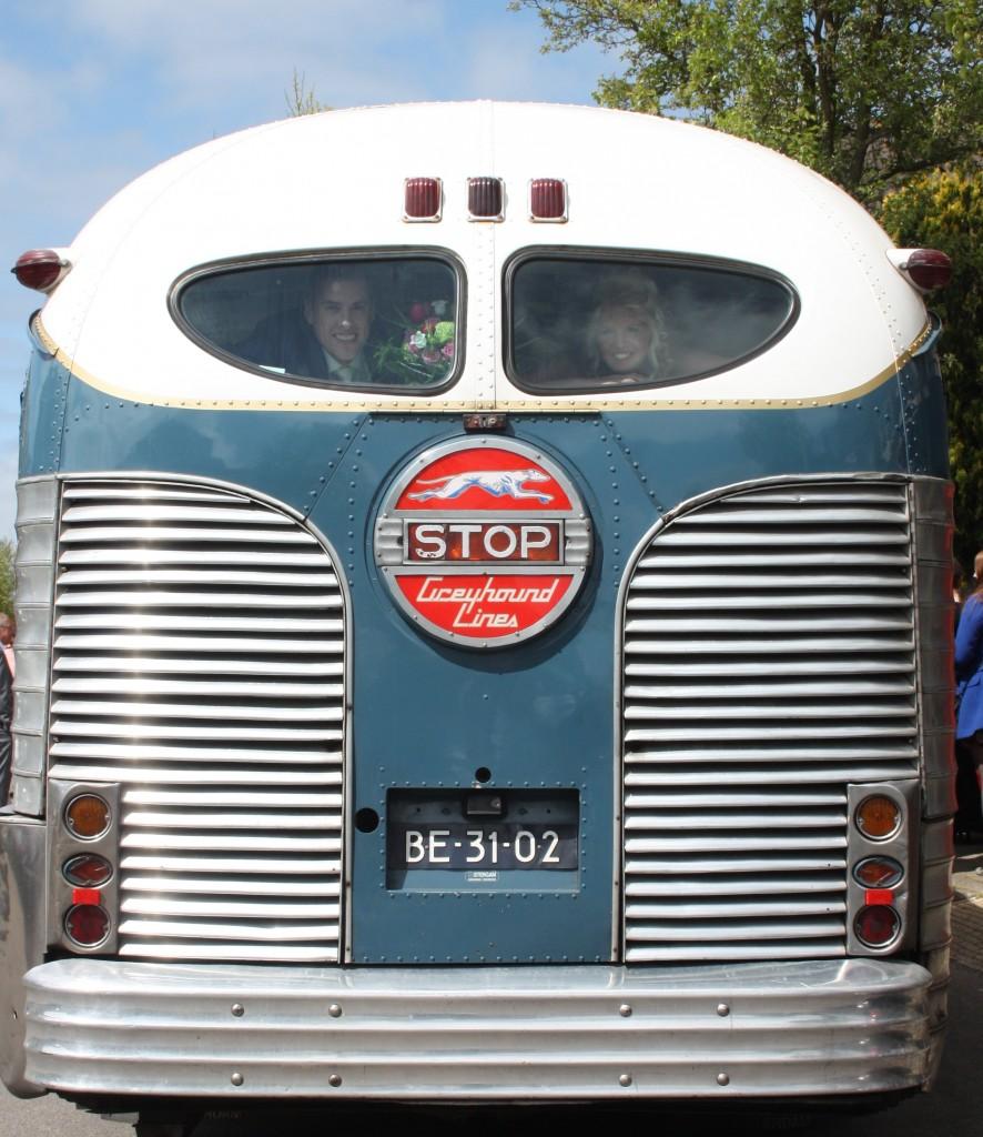 Mijn lievelings Bus de Greyhound Silverside