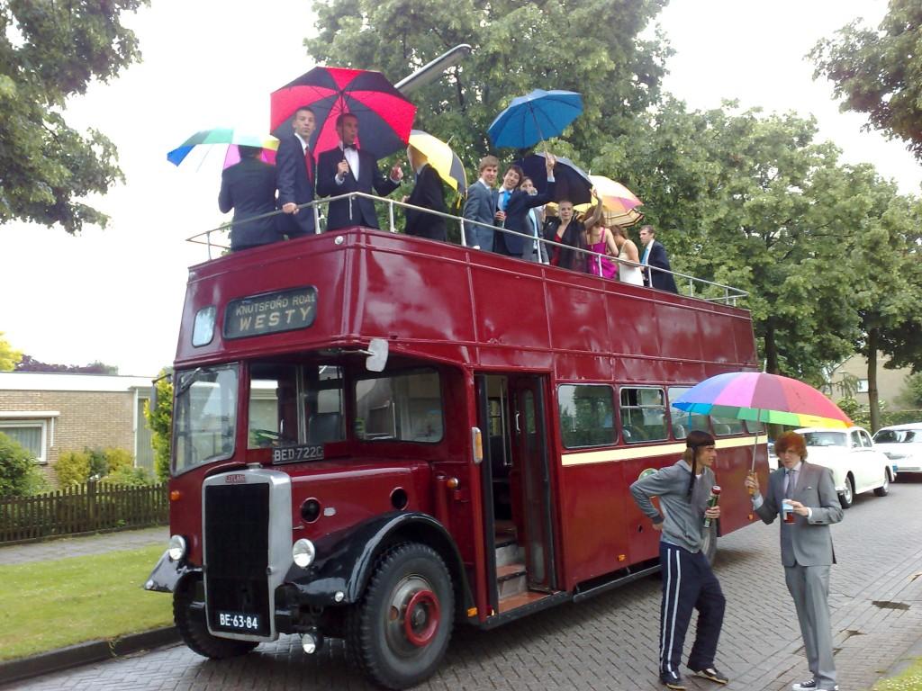 Open Topper Leyland 40 personen