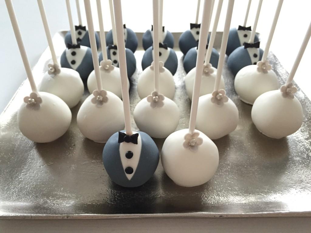 Cakepops, bruidstaarten, bruiloft, candy table
