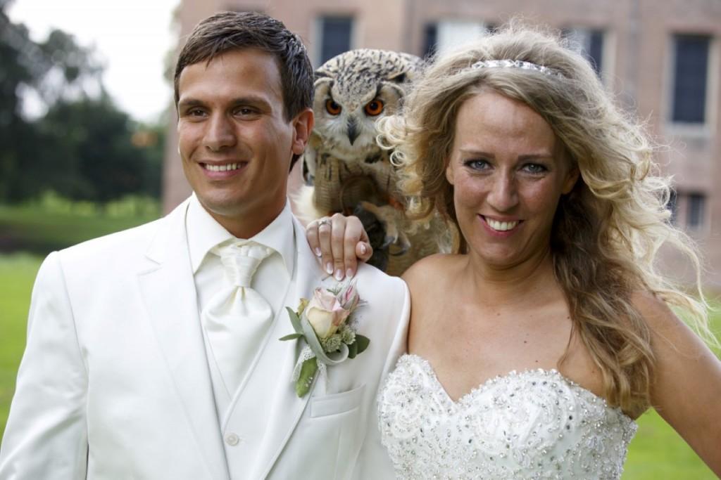 Fotoshoot met oehoe