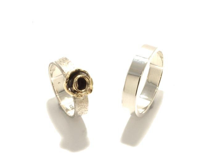 Gold Rose, zilver, geelgoud