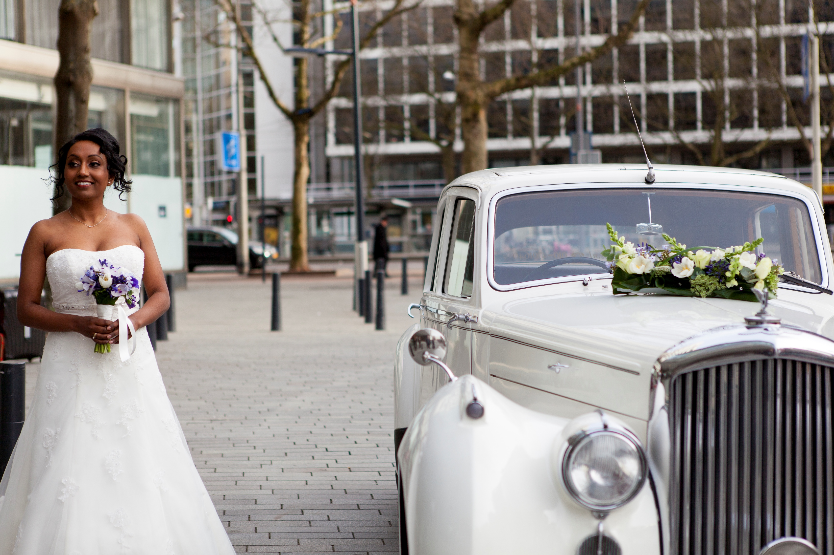 Bruiloft bij Hilton Rotterdam