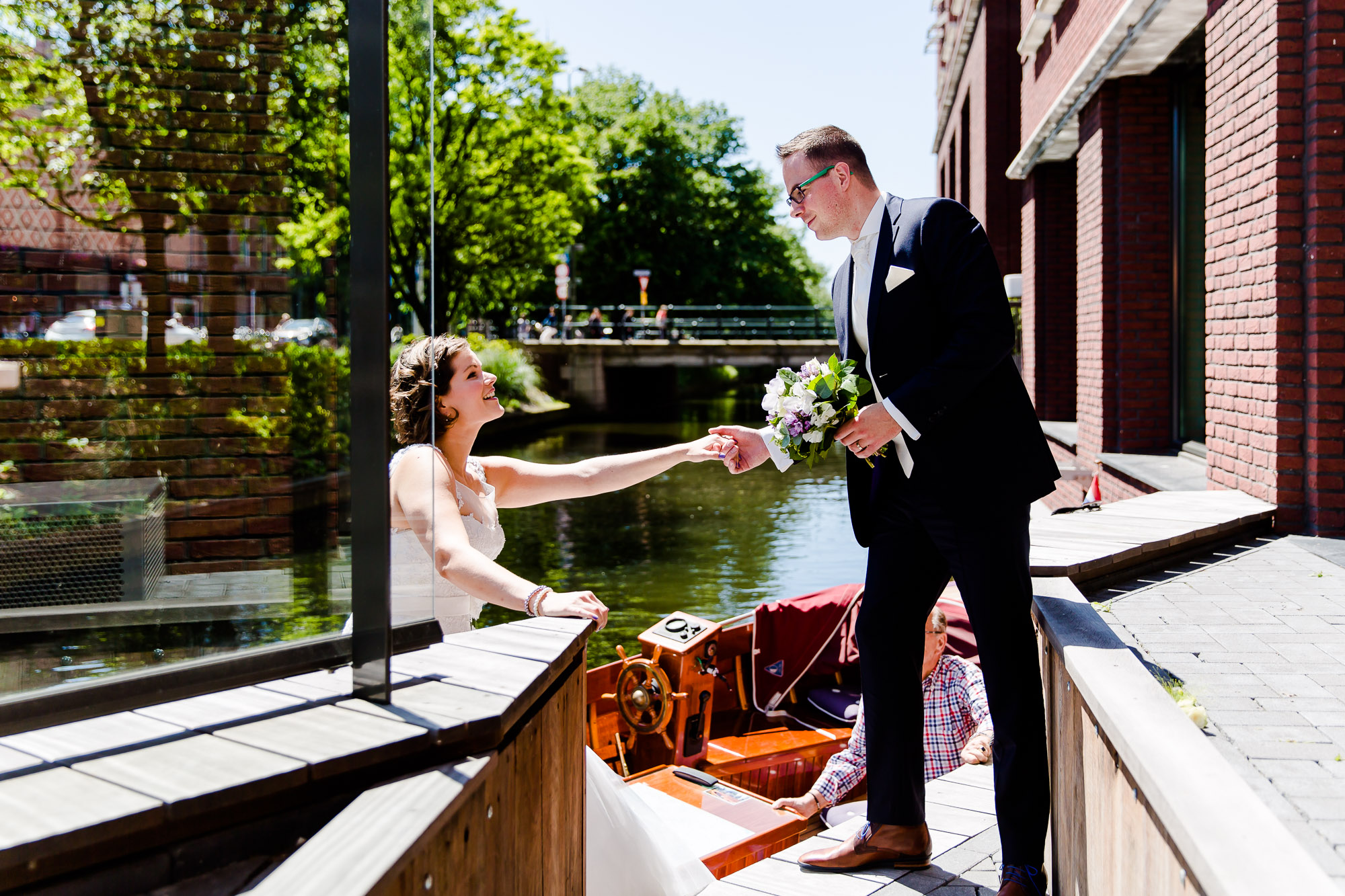 Bruiloft bij Hilton The Hague