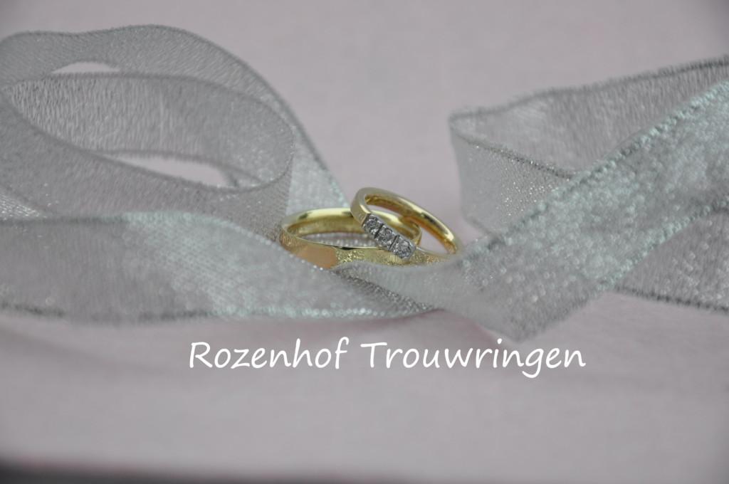 Elegante smalle trouwringen