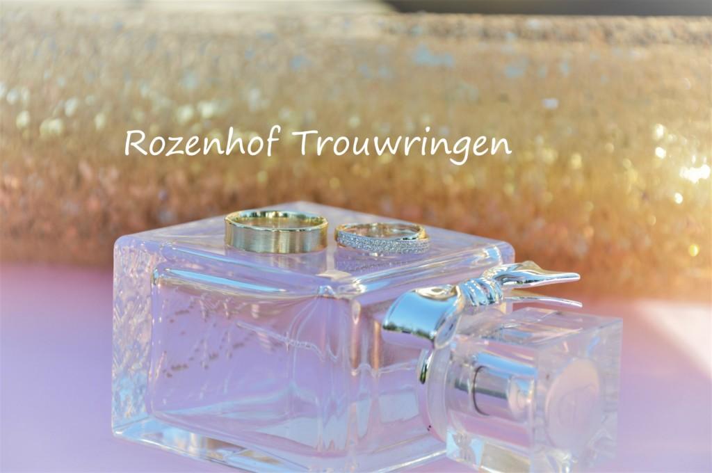 Geelgouden elegante trouwringen