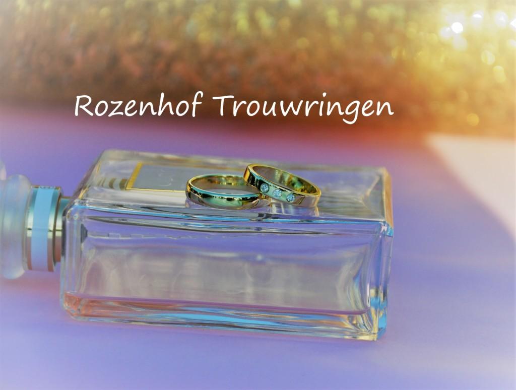 Geelgouden klassieke trouwringen