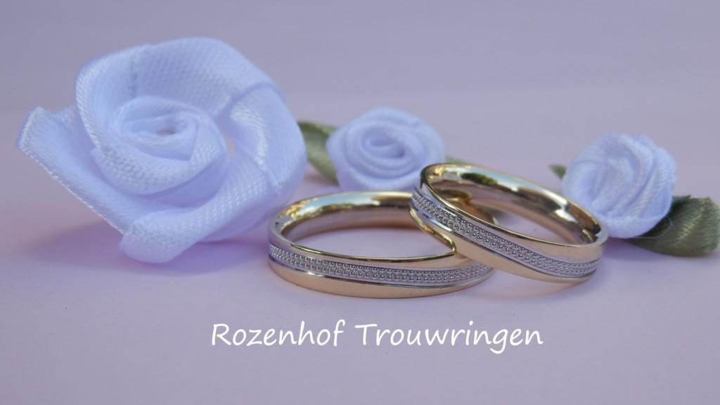 Unieke elegante trouwringen