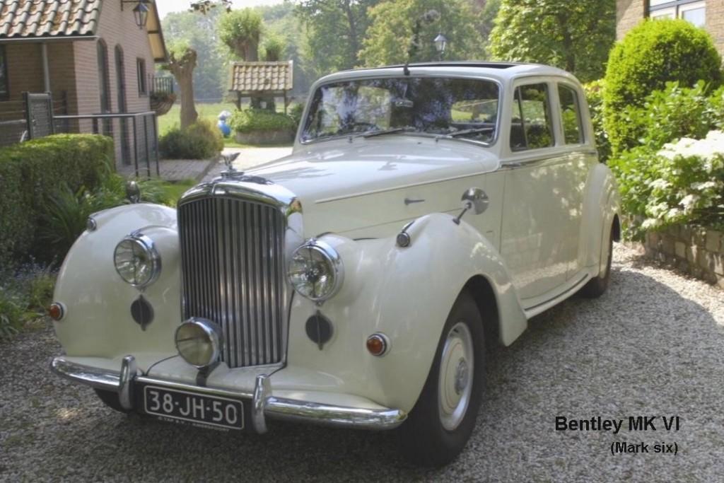 Bentley MK VI uit 1953