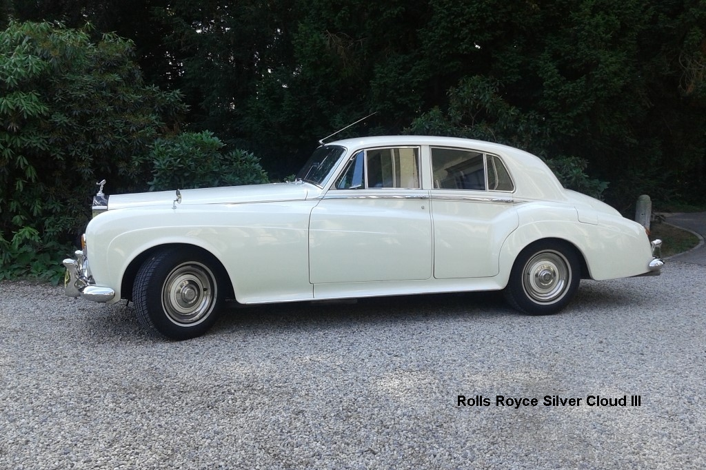 Rolls Royce Silver Cloud III uit 1964