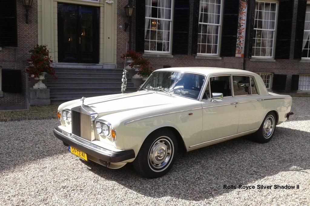 Rolls Royce Silver Shadow II uit 1978