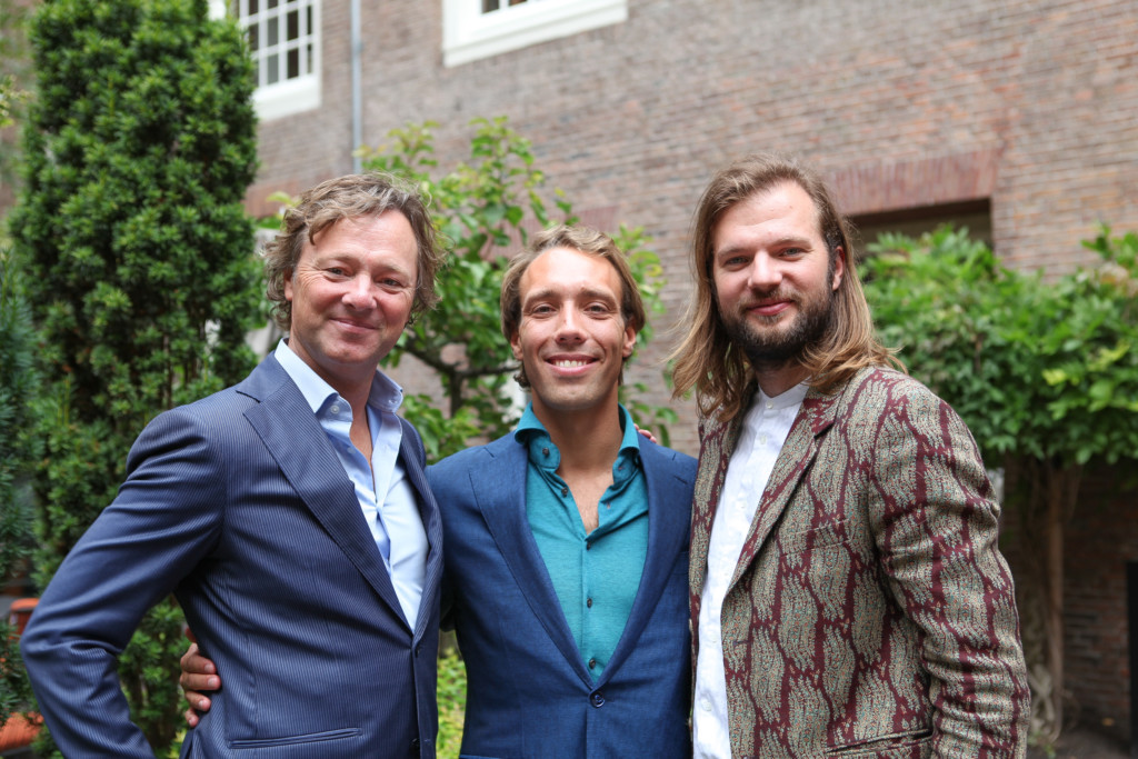 De oprichters: Tim Jeroen & Frits