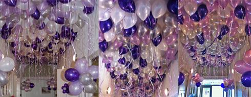 Ballonnen hemel