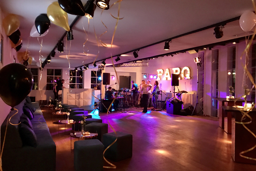 Feestavond in de Parq Lounge