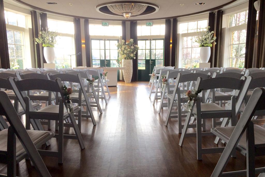 Huwelijksceremonie Rosariumzaal