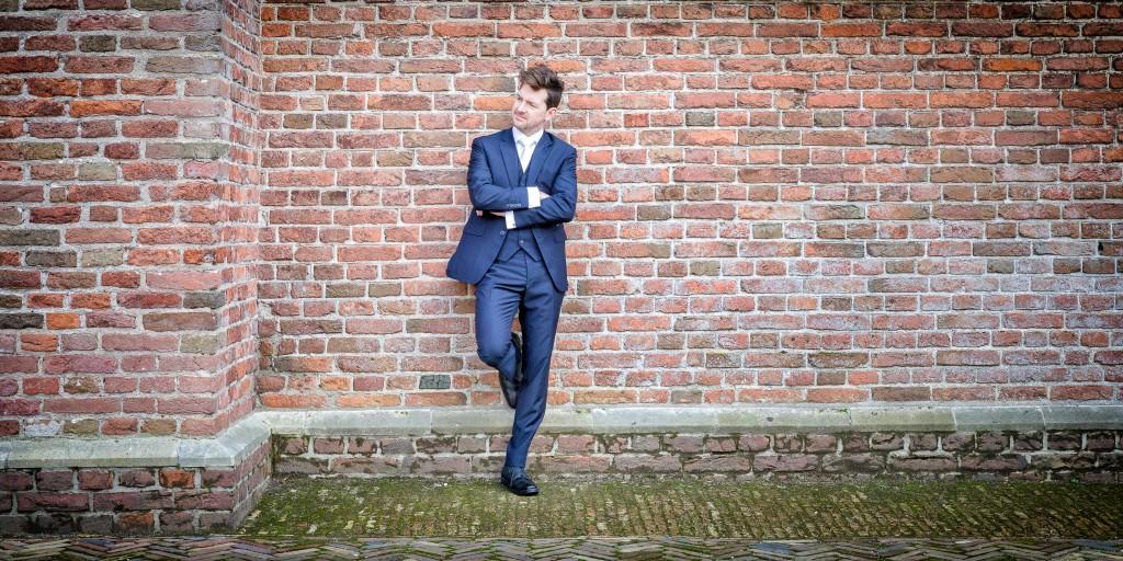 Bart Sanders Maatpakken TROUWPAK donkerblauw