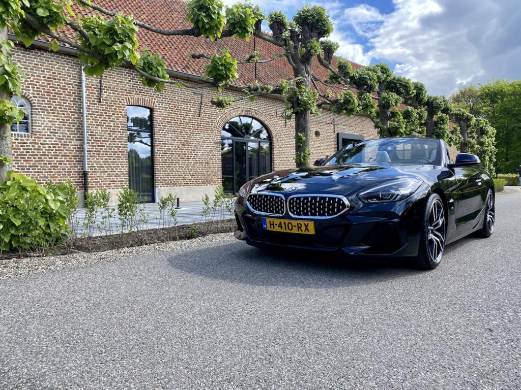 BMW Z4 als trouwauto