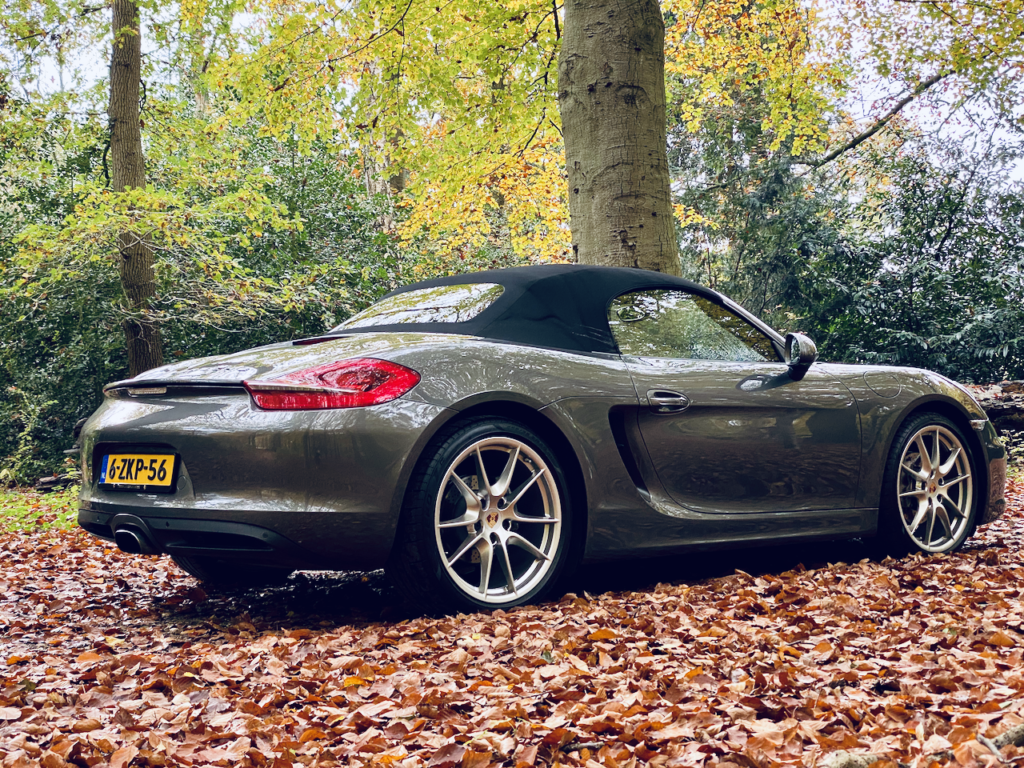 Porsche Boxster als trouwauto