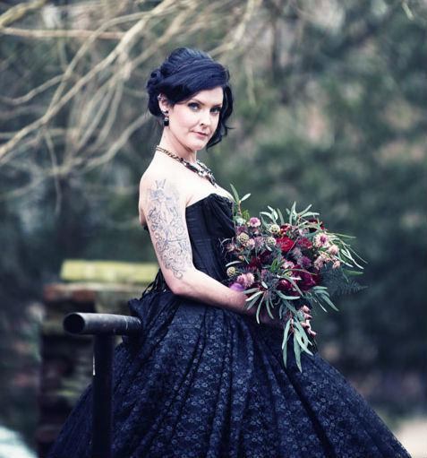 bruid foto Bart van Dieken