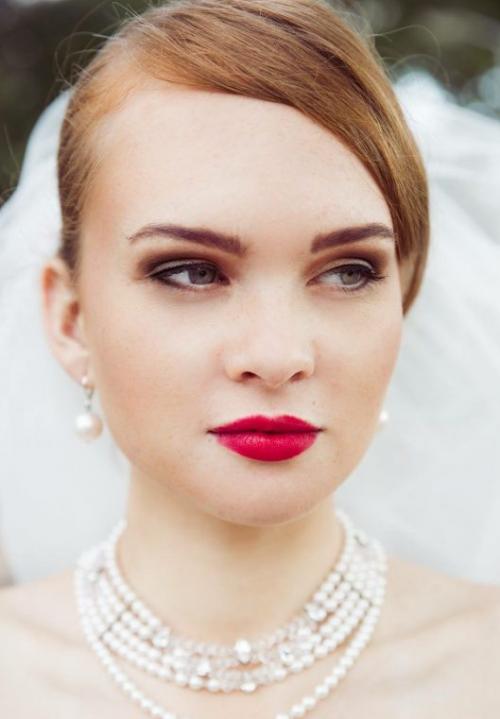 make up trends voor bruiden