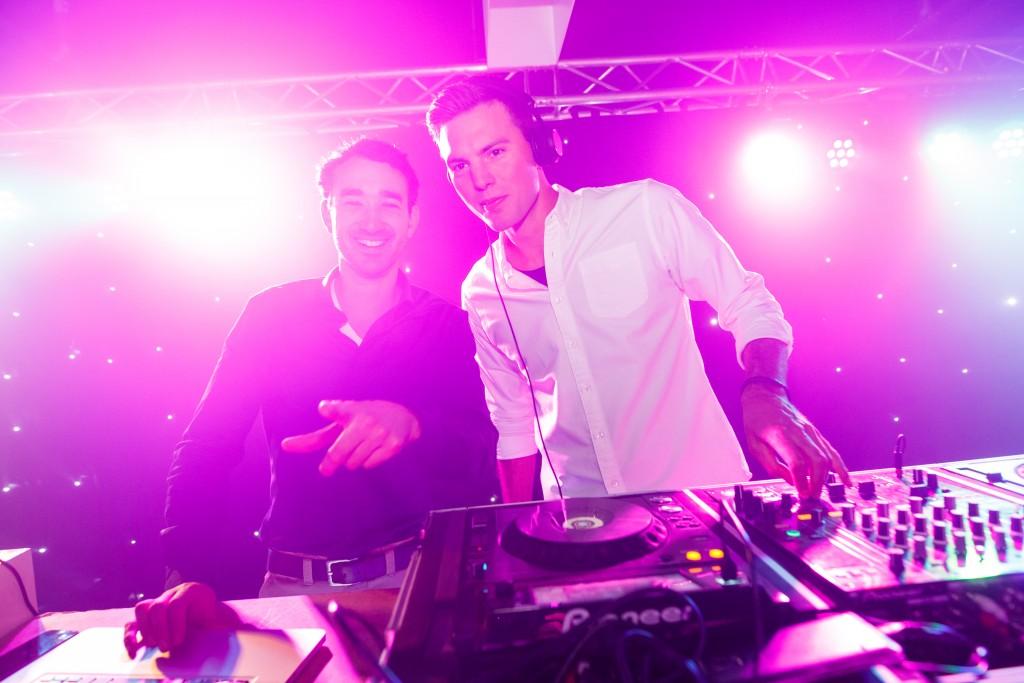 DJ's: Mark en Jense