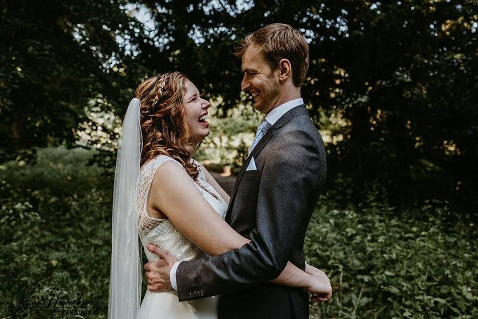 Bruidskapsel en visagie