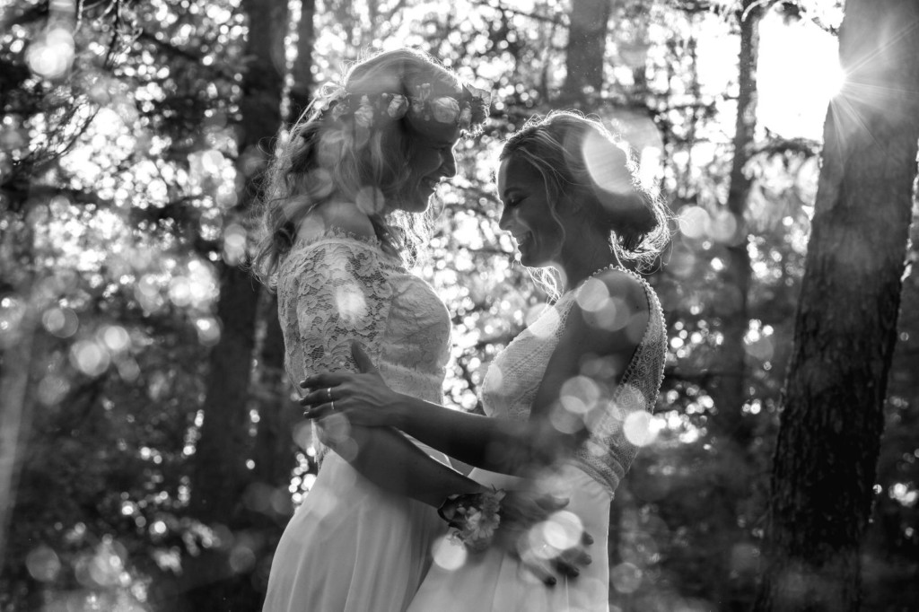 2 bruidskapsels en visagie