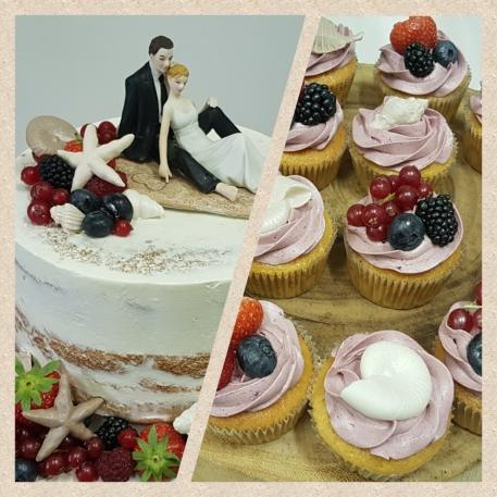 aansnij taart vers fruit