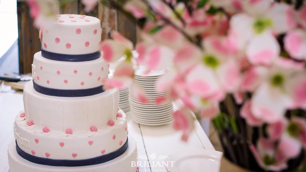 Briljant Bruidsfotografie bruidstaart