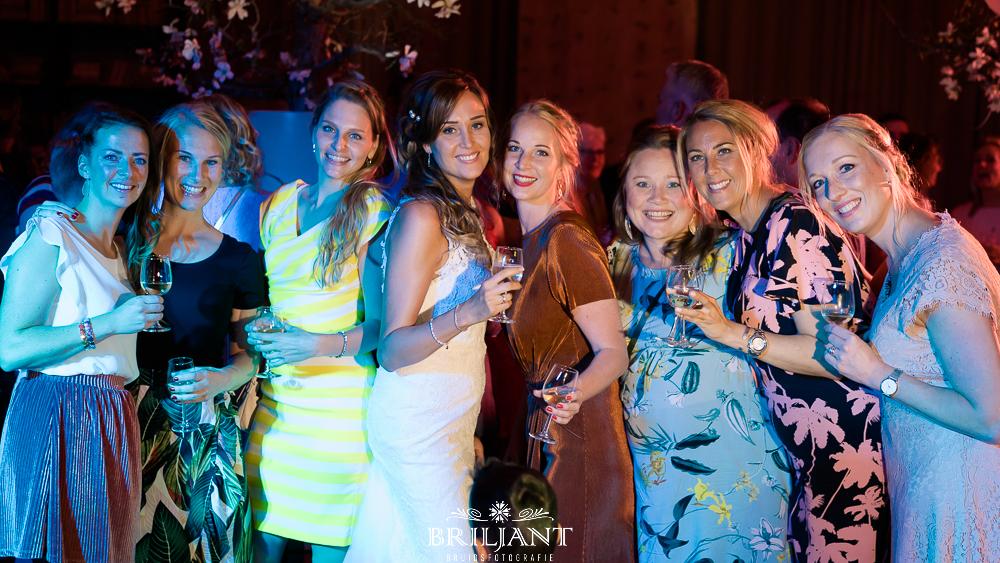 Briljant Bruidsfotografie feest dansen