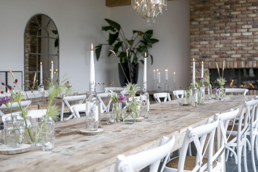 Dinerlocatie bij het bijbehorende trouwhotel 't Schippershuis