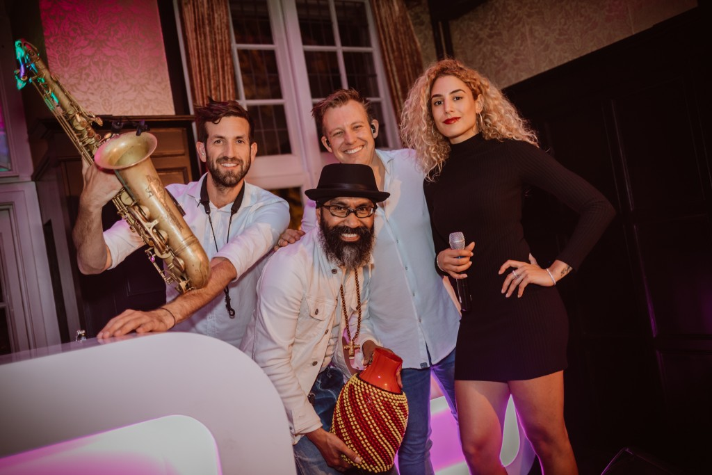 Sax with the DJ & Friends
