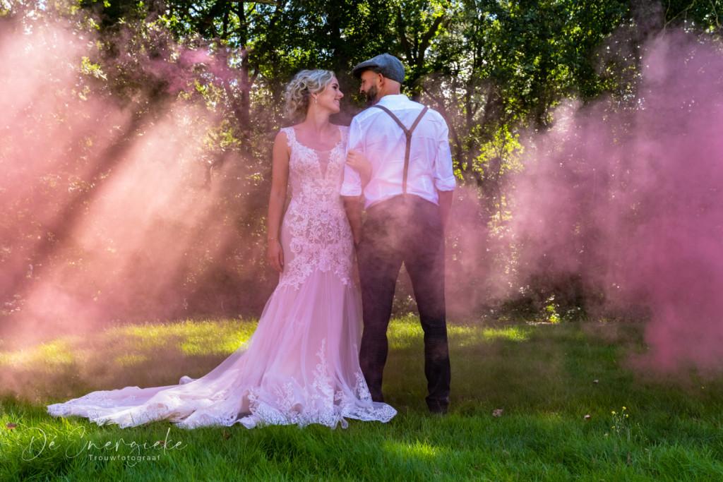 De energieke trouwfotograaf