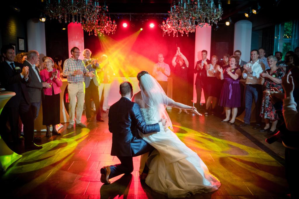 Huwelijksfeest tot in de late uurtjes – foto: Eppel Fotografie