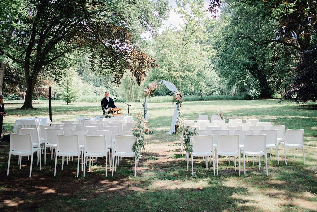 Buiten ceremonie – Foto: Ringelberg Fotografie