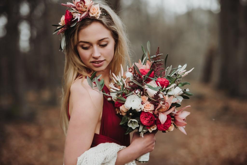Herfst bruidsboeket