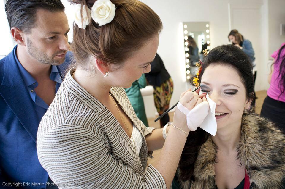 Make-up wedstrijd met Fred van Leer