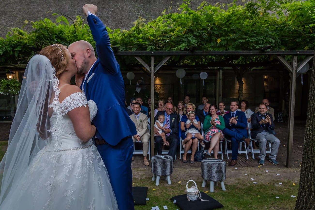 Bruidsmake-up Bruidskapsel