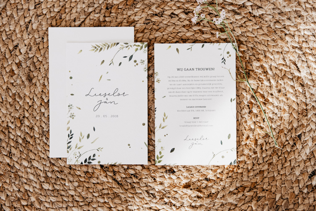 Wedding stationery 1