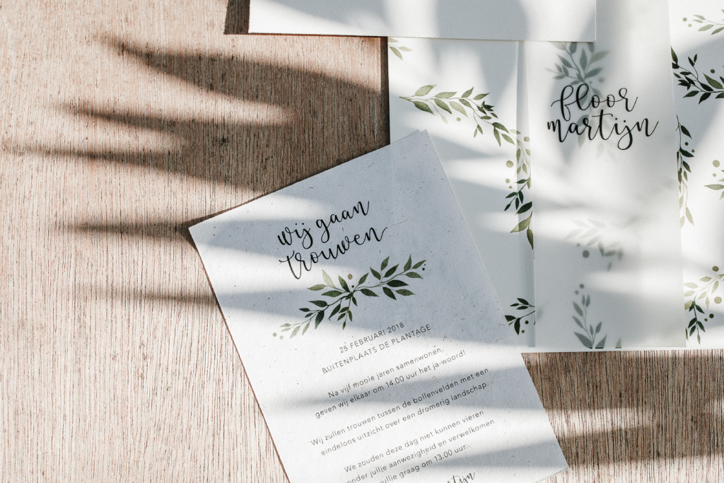 Wedding stationery 5