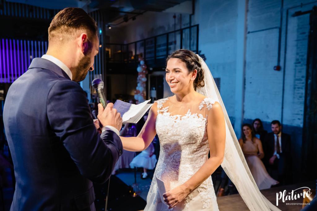 Trouwgelofte bruidegom