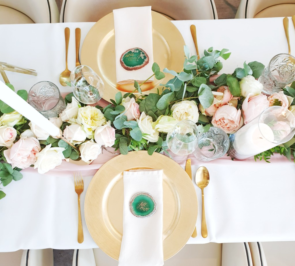 Table styling & flowers