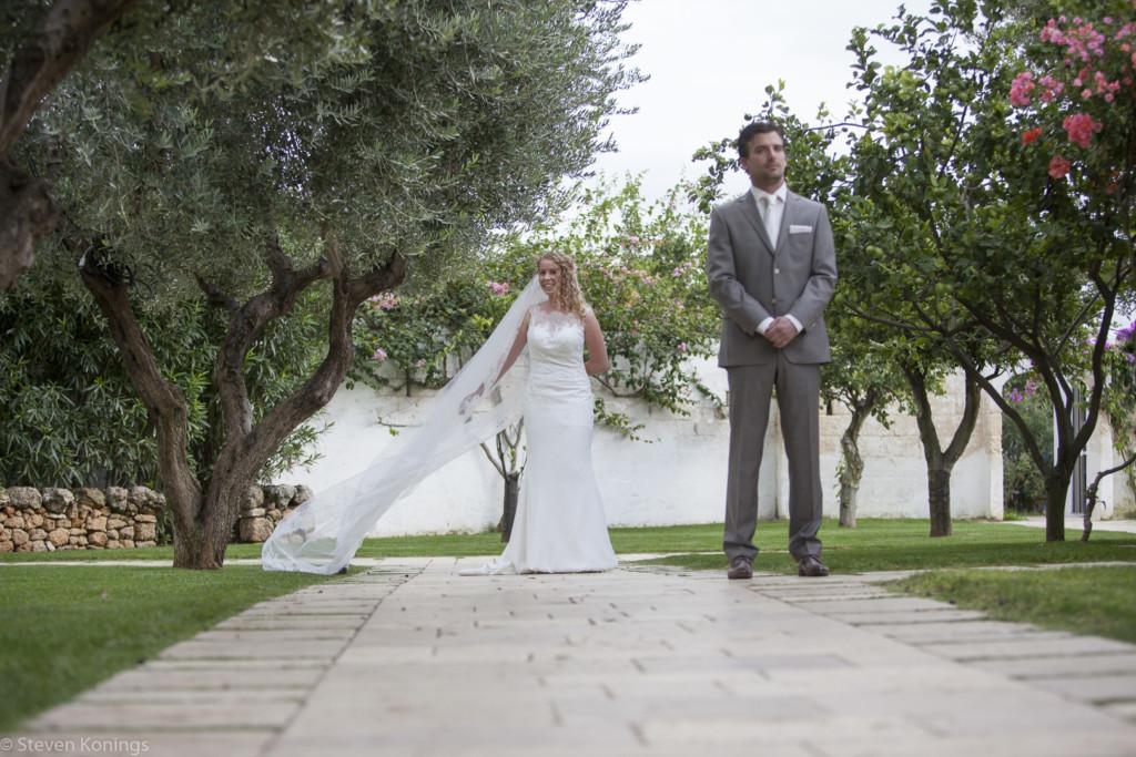 bruidegom wacht