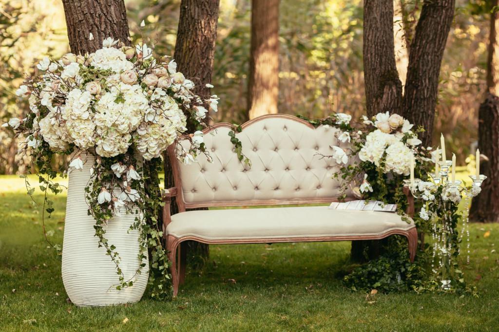 een huwelijksopstelling