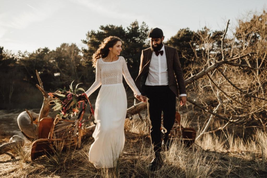 verloofd bruiloft trouwen zeeland bruist