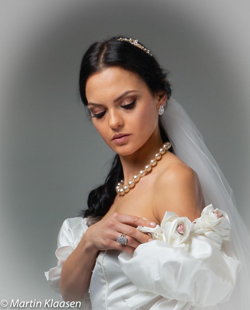 Tinted Beauty bruid fotoshoot