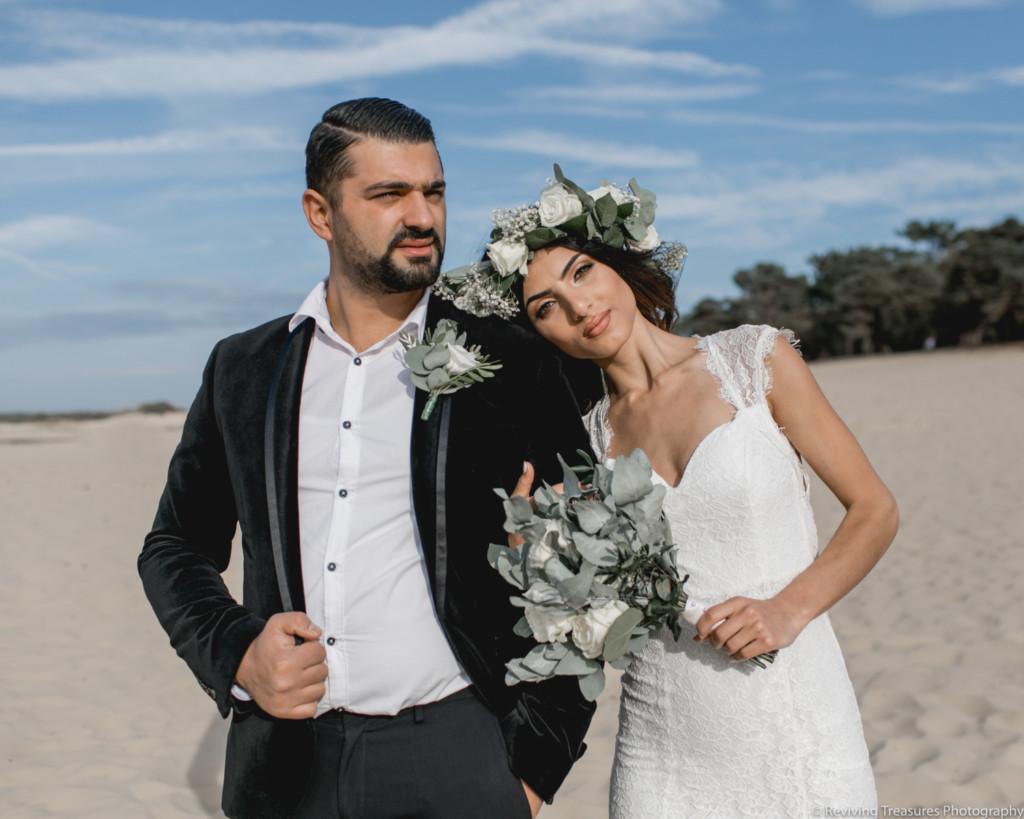 Tinted Beauty Armeens bruidspaar