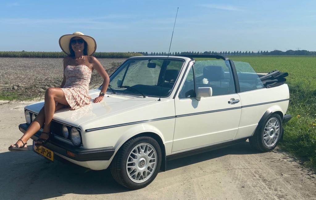8. VW Volkswagen vintagecarswapenveld golf cabrio mk1 1985