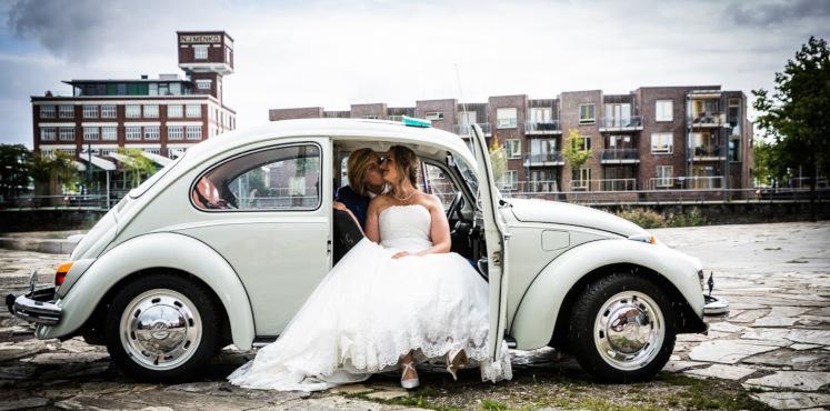 Vintagecars Wapenveld trouwauto