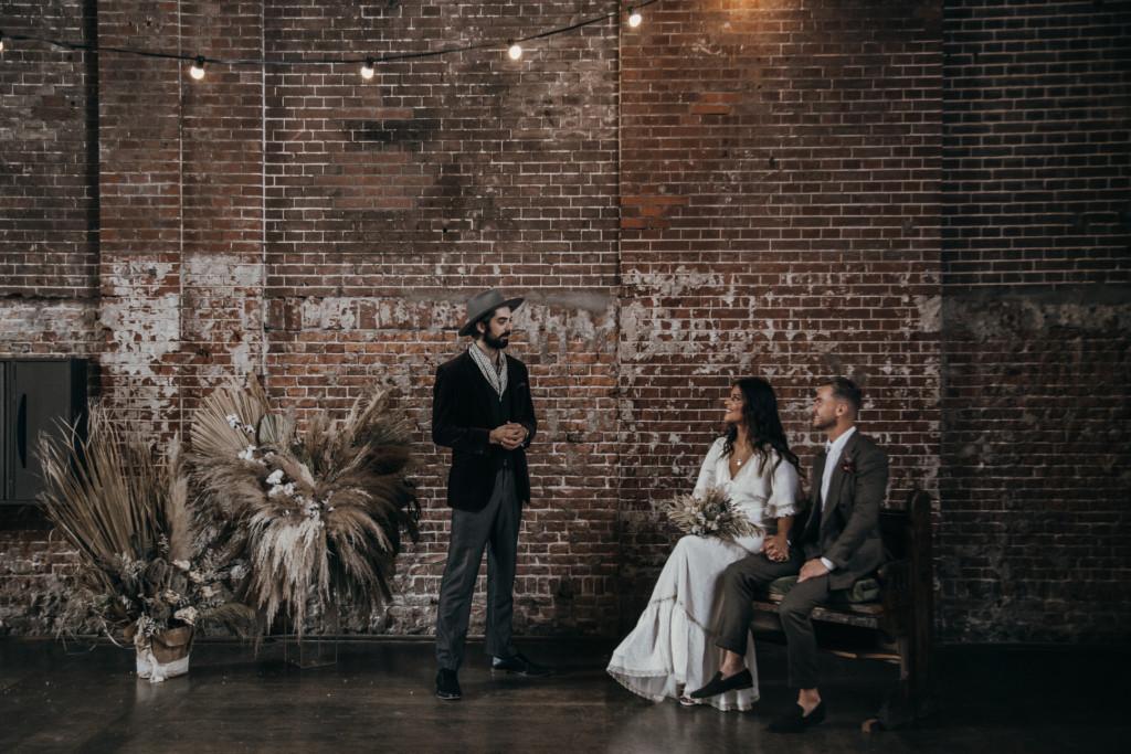 Industrial Wedding Ceremony