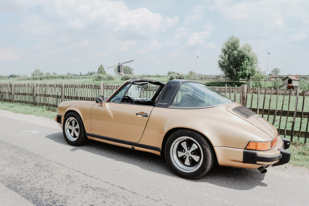 Porsche 911 Targa als trouwauto